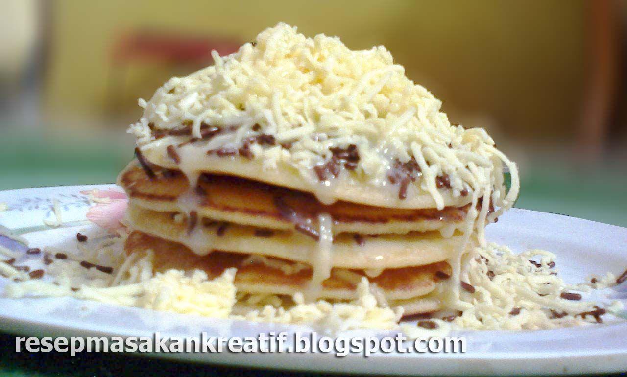 Pancake Keju Enak Mudah Praktis Resep Masakan Resep Masakan Indonesia Makanan Enak