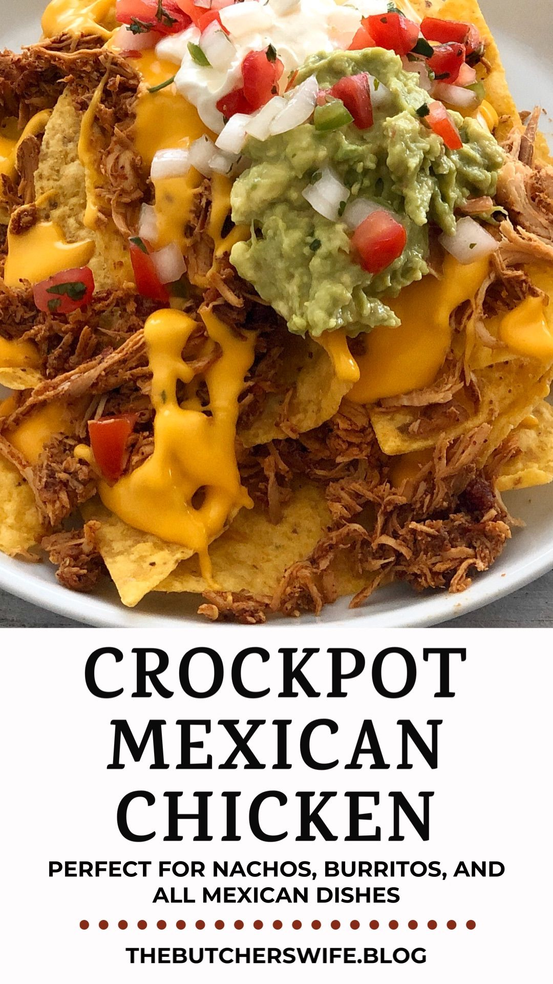 Crockpot Mexican Chicken | The Butcher's Wife