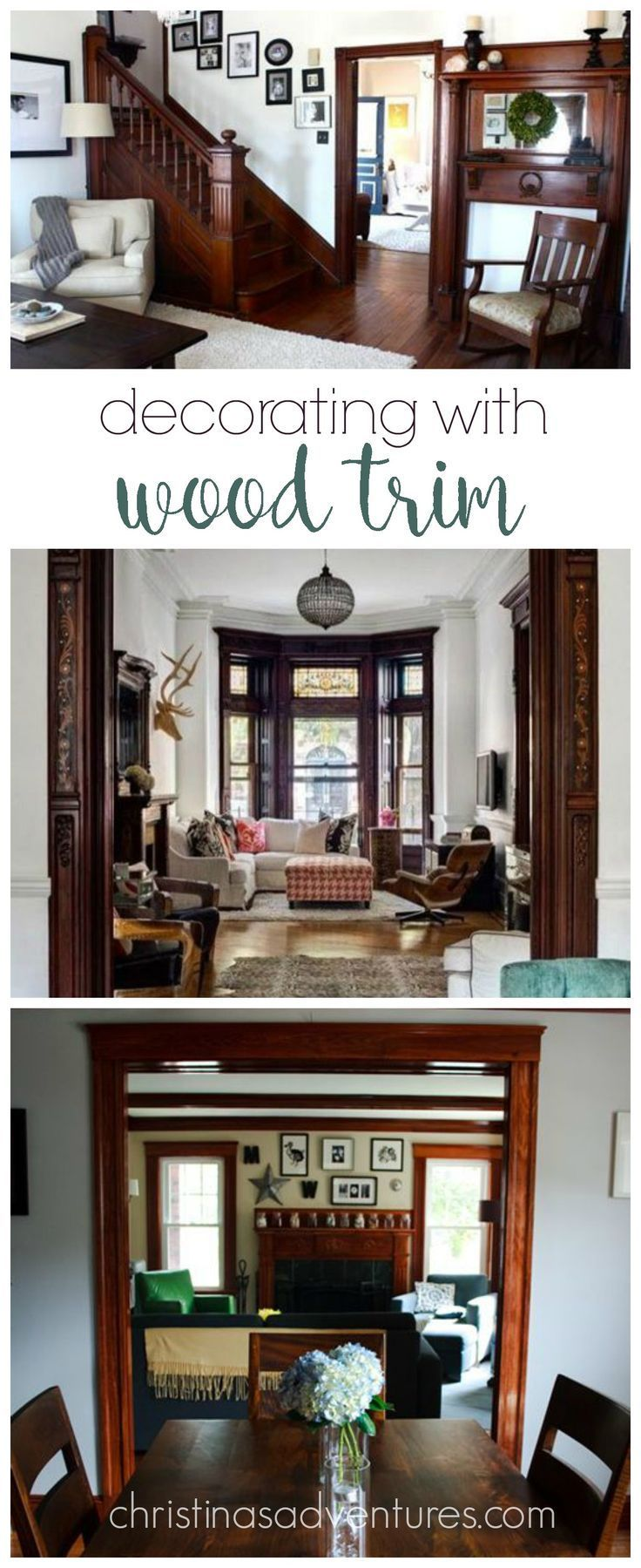 Decorating With Wood Trim Wood Trim Living Room Paint