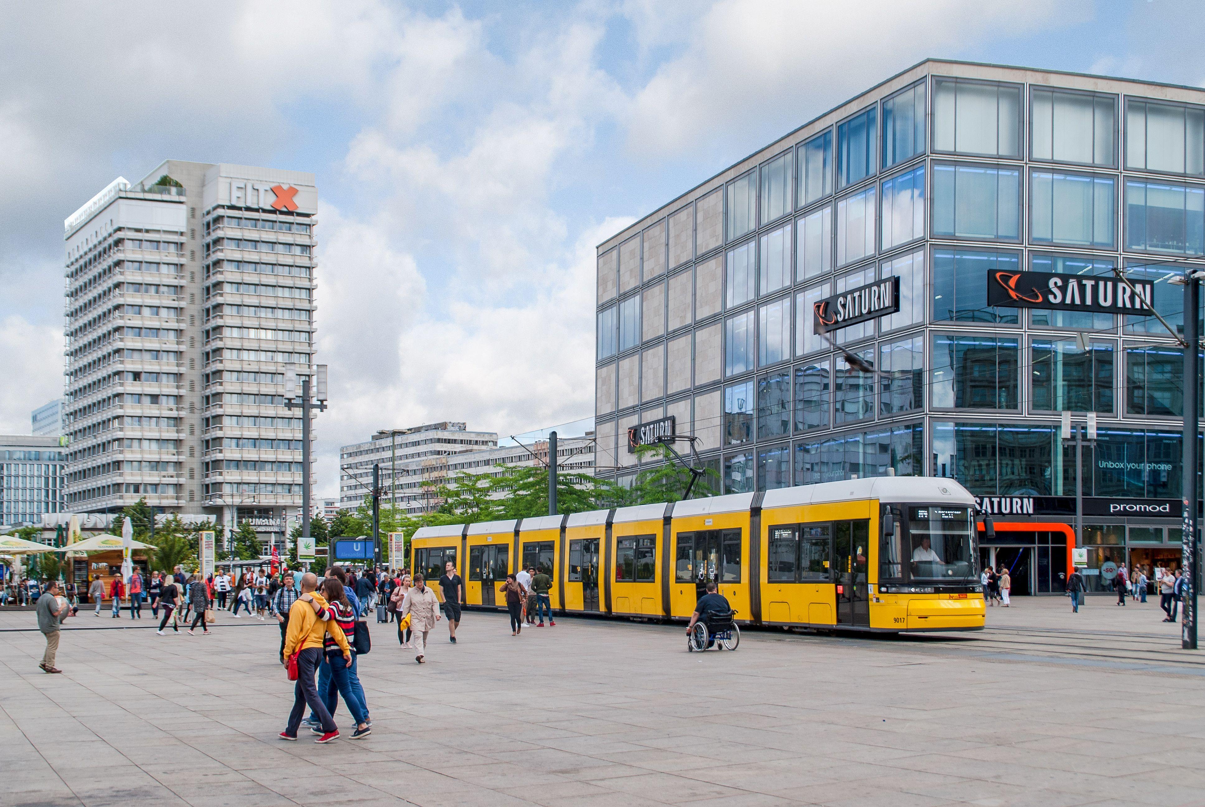51 Alexanderplatz Strassenbahn In 2020 Facade Street View Scenes