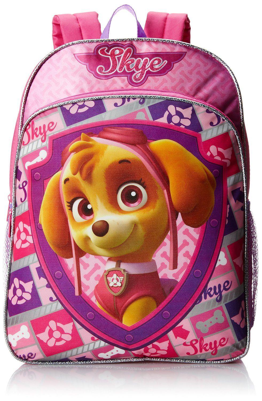 Paw Patrol Skye 3D Head Backpack Multi-Colour