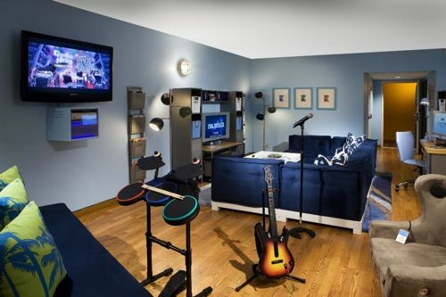 This Is Too Cool! A Teen Lounge... | ❤for The Babies In My Life❤ |  Pinterest | Teen Lounge, Teen And Basements