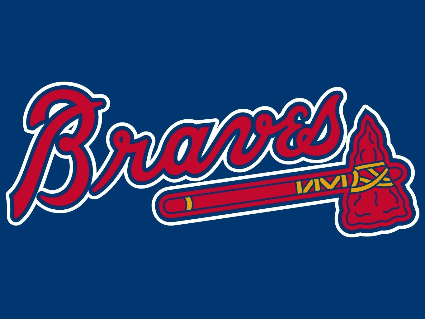 Atlanta Braves 9 Mlb Team Logo Vinyl Decal Sticker Car Window Wall Cornhole Ebay Atlanta Braves Logo Mlb Team Logos Atlanta Braves