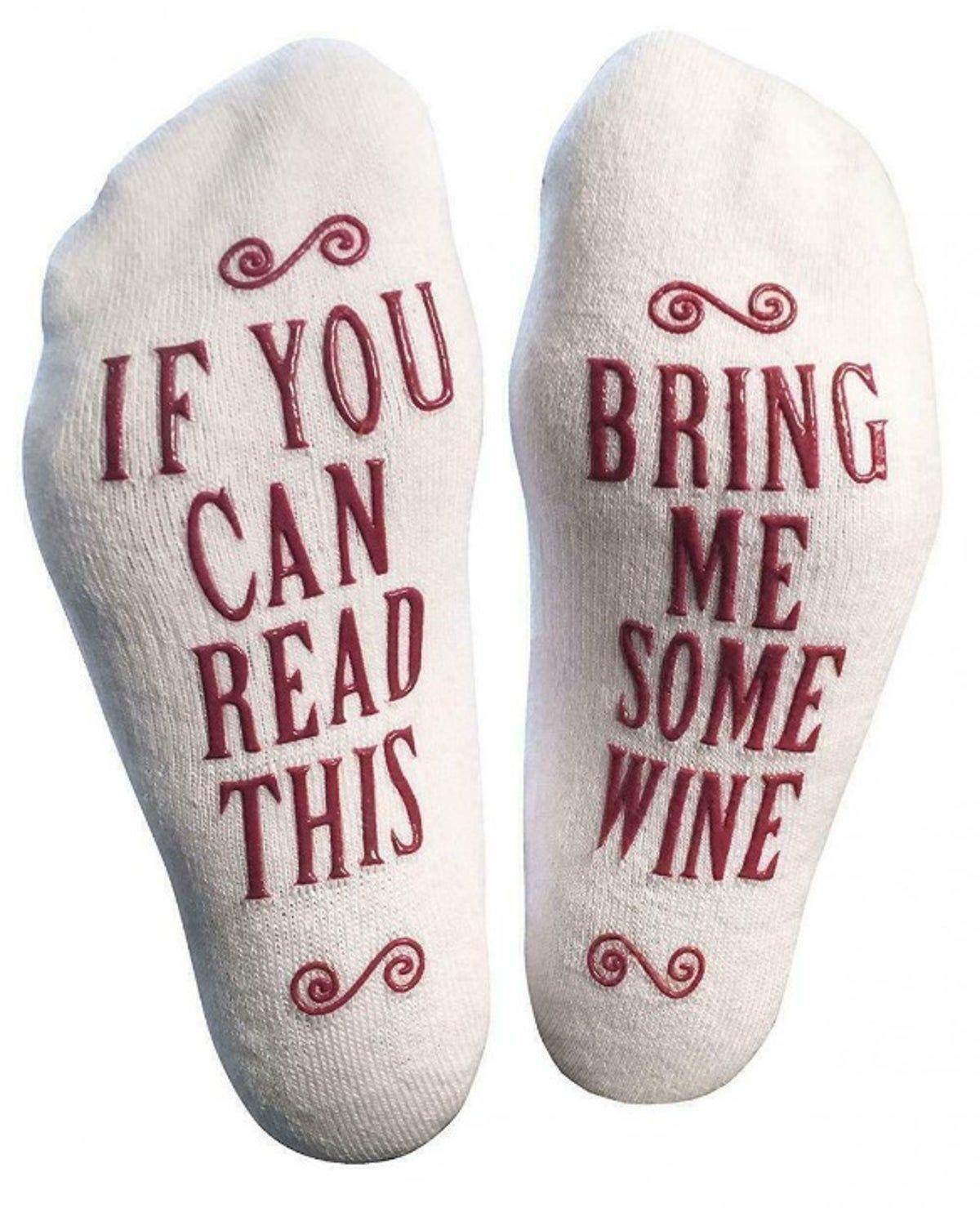 Womens Novelty Socks Non-Skid #schrottwichtelnideen