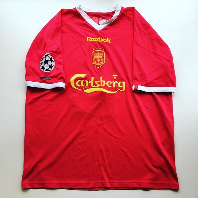 huge selection of 92a30 98414 liverpool champions league shirt