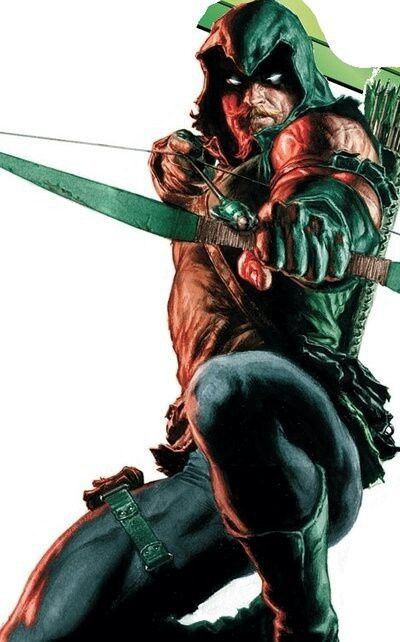 Green Arrow Dispute the terrible TV show, Green Arrow is my favorite superhero... He's just super cool
