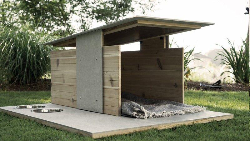 We Love This Aww Inspiring Modern Doghouse Modern Dog Houses