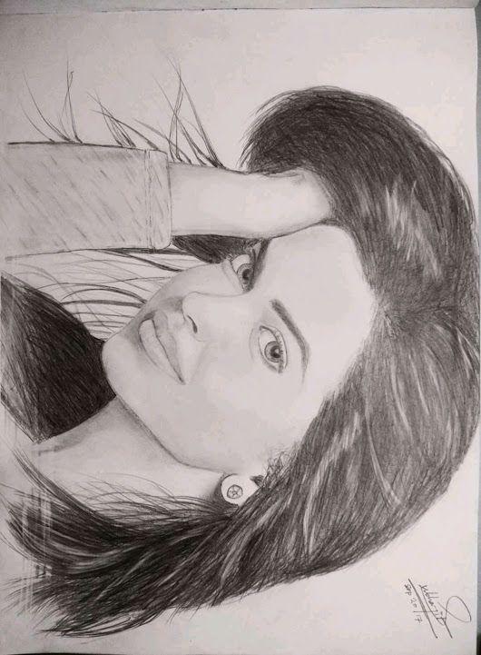 deepika padukone sketch by Subhajit Bhattacharjee ...
