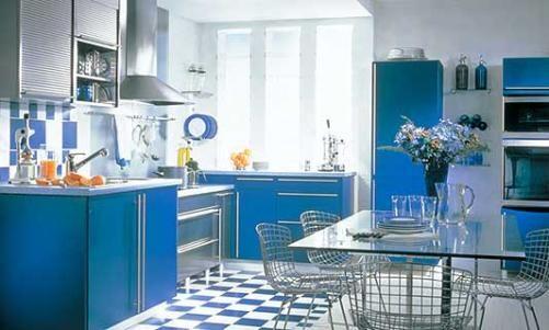 Picture 09 - Blue Kitchen Paint Colors