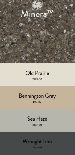 Benjamin Moore Paint Tool Cambria Minera Bennington Gray Custom Countertops Stone Surface