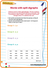 Words with split digraphs (Phase 5 phonics) | English | Pinterest ...