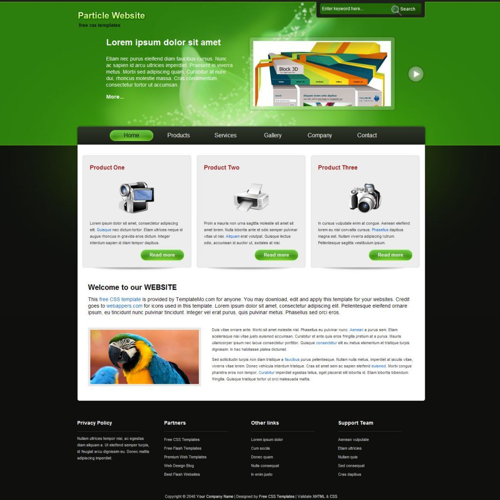32 Sample Website Design Templates Website Template Design Sample Website Design Web Template Design