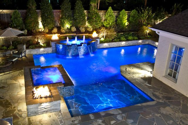 360 Spillover Spa Design, Pictures, Remodel, Decor and Ideas - page ...