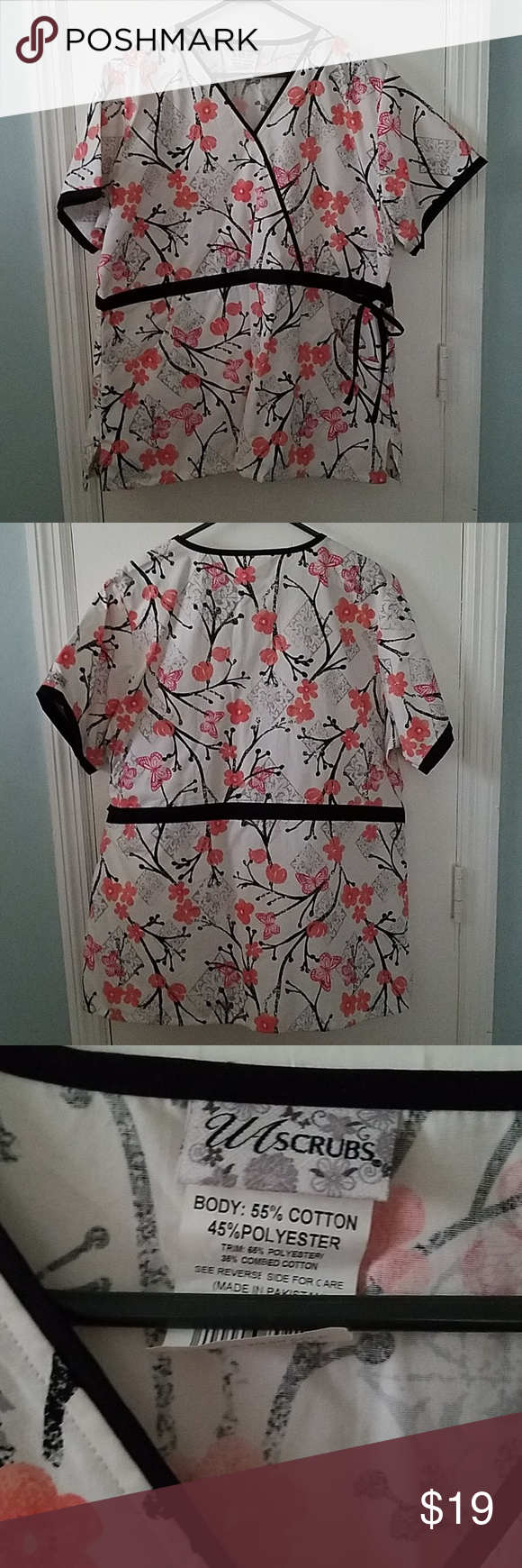 UA Scrubs Cherry Blossoms Top XL 1X NWOT This listing is for a new without tags … 435f8d5b9e546ecbb771d96fd7d3350c