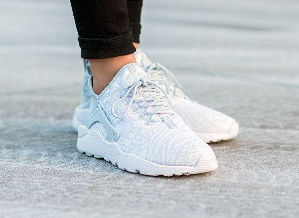 Nike Air Huarache Ultra Jacquard 'White Metallic Silver'