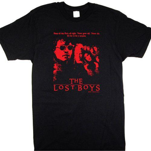 a825bdd4685 LOST BOYS TShirt retro 80s vampire goth movie by SlothMachine