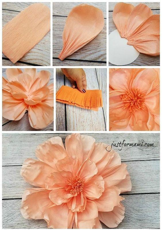 Tutorial: Papierblumen machen