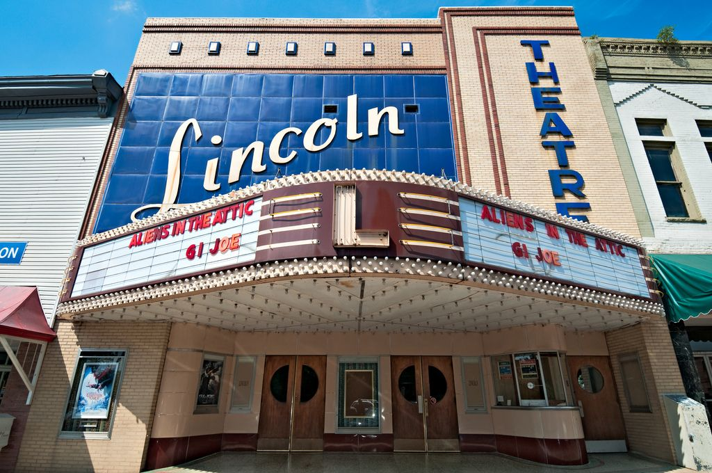 Lincoln theater in my hometown fayetteville tn hometown
