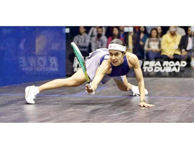 Womens World Championships: Squash legend Nicol seeks ninth title - The Express Tribune
