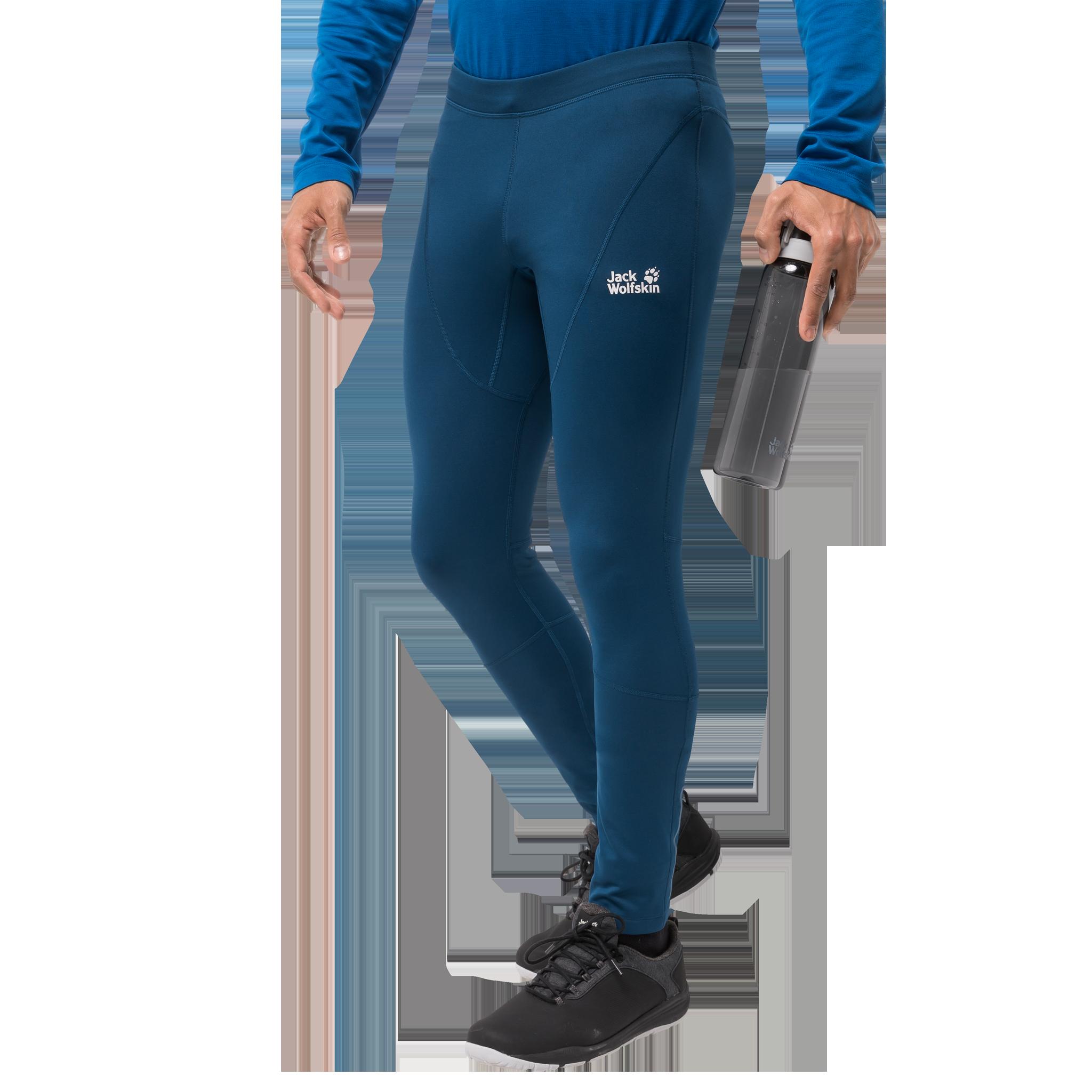 Jack Wolfskin porthose Männer Gravity Winter Tights Men blau