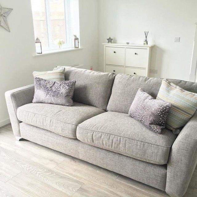 Living Room Sofa, Dfs Sofa Duck Egg Blue
