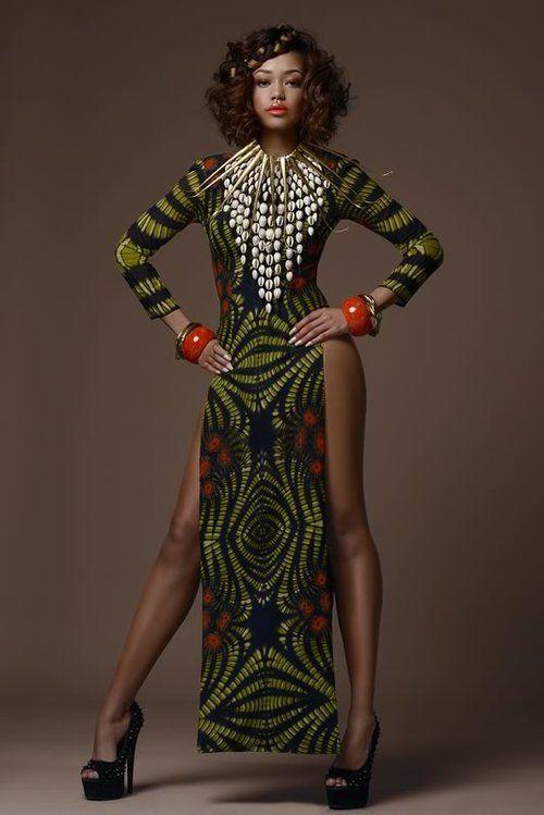 Gorgeous Tribal Noveau Riche - Africa Fashion Week London ...