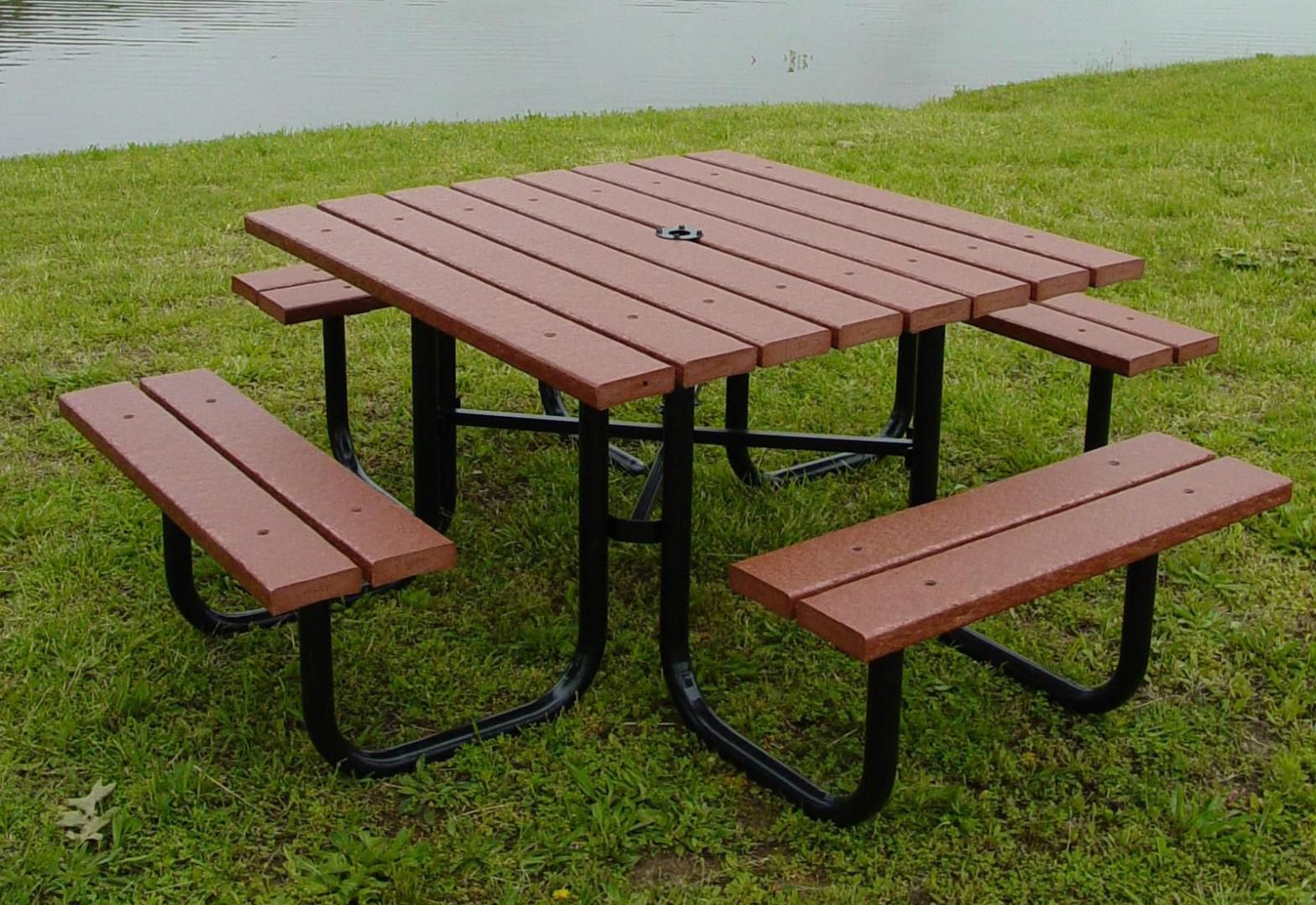Awesome Outdoor Coffee Table With Umbrella Hole Stol Dlya Piknika