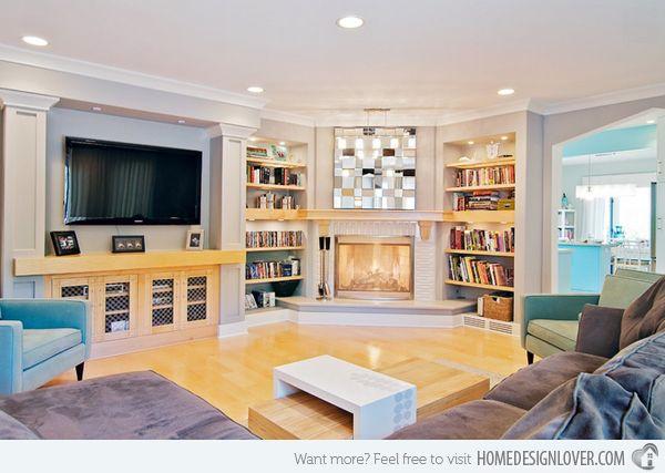 15 modern day living room tv ideas livingrooms pinterest