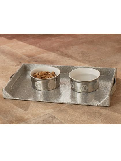 Feeding Platter By Enchanted Home Pet At Gilt Platters