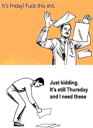 Friday Work Meme : friday, Weekend, Hurry, Friday, Meme,, Humor,, Memes