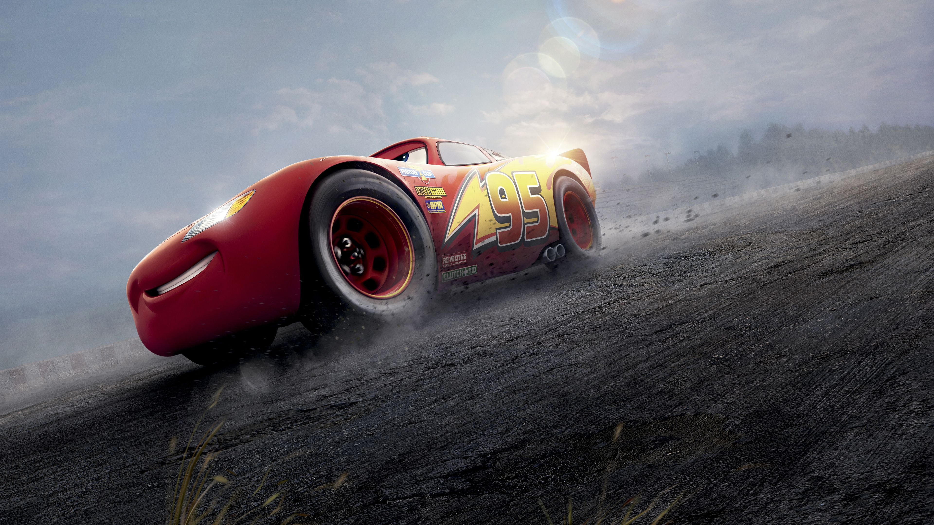 Cars 3 Red Lightning McQueen 4k movies wallpapers, hd