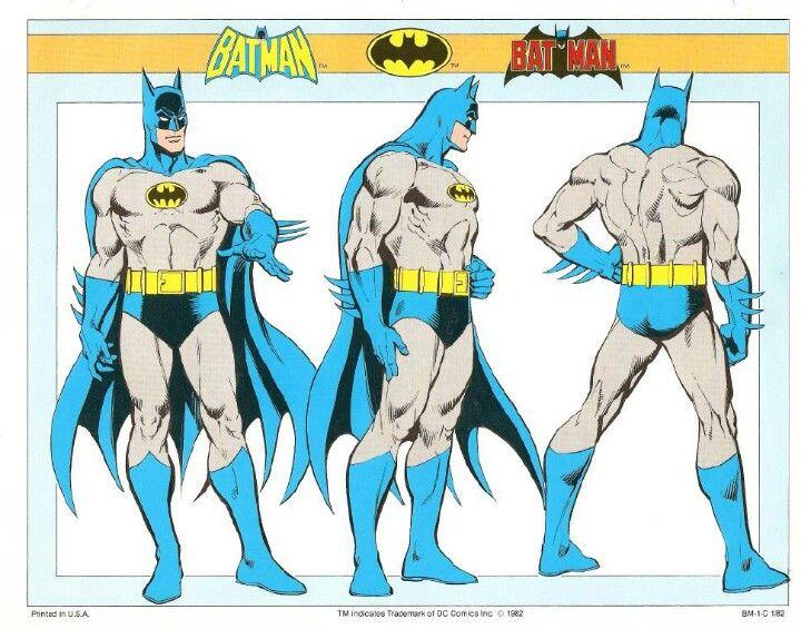 DC Comics Style Guide Jose Luis Garcia Lopez Batman