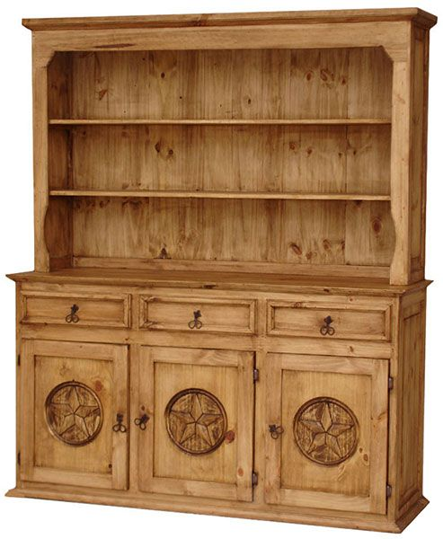 Rustic Pine Kitchen Cabinets: Rustic Mexican Pine Furniture