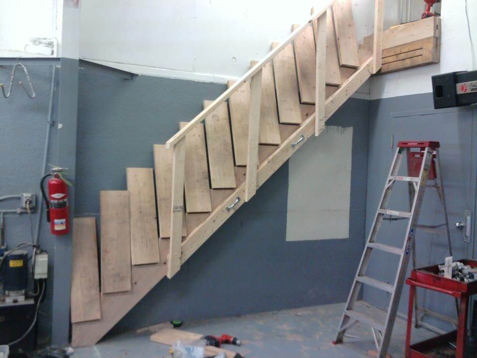 Collapsible Stairs Stair Pinterest Tiny Houses House And