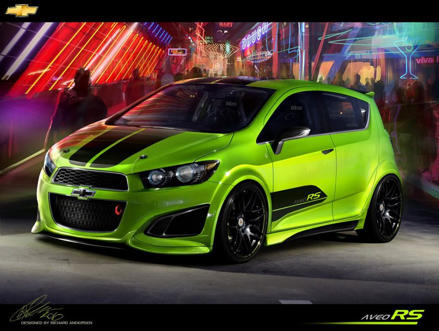 Chevy Sonic Custom >> Awesome Photoshop Custom Cars By Richard Andersen Rides