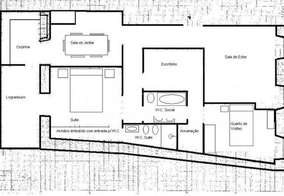 Planta de casa de campo modelo10 palntas emerson pinterest - Modelos de casas de campo pequenas ...