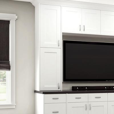 ALL PLYWOOD CONSTRUCTION Home Decorators Elice Polar White ...