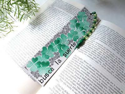 "Marcapáginas ""Suerte"" / ""Luck"" bookmark"