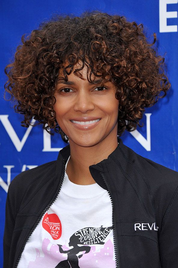 Halle Berry S Curly Hairstyle