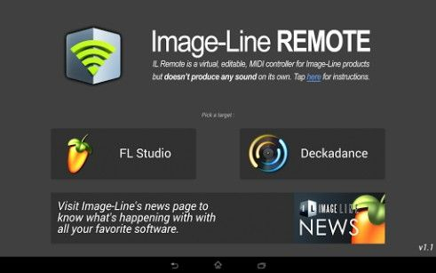 Image-Line Remote, controlla FL Studio o Deckadance dal tuo smartphone o tablet Android - http://www.tecnoandroid.it/image-line-remote-controlla-fl-studio-dal-tuo-smartphone-o-tablet-android/