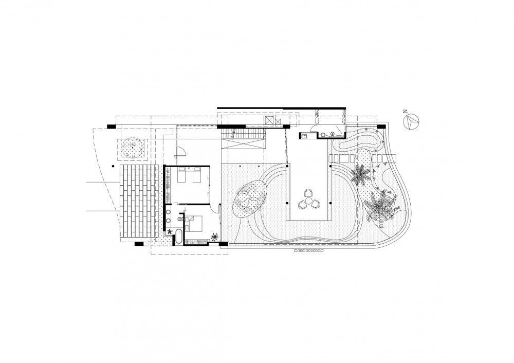 Fish House Guz Architects Patio Interior Interiores Singapura