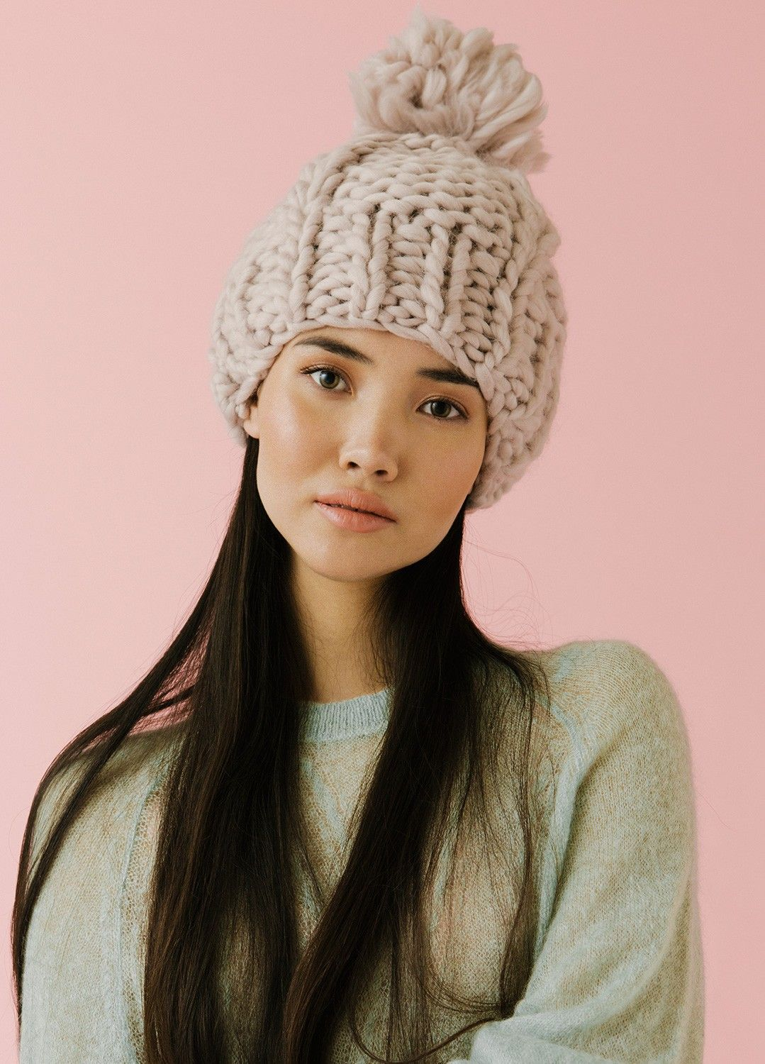 Harney Beanie Beanies Knitted Hats Knitting Kits Vogue Knitting
