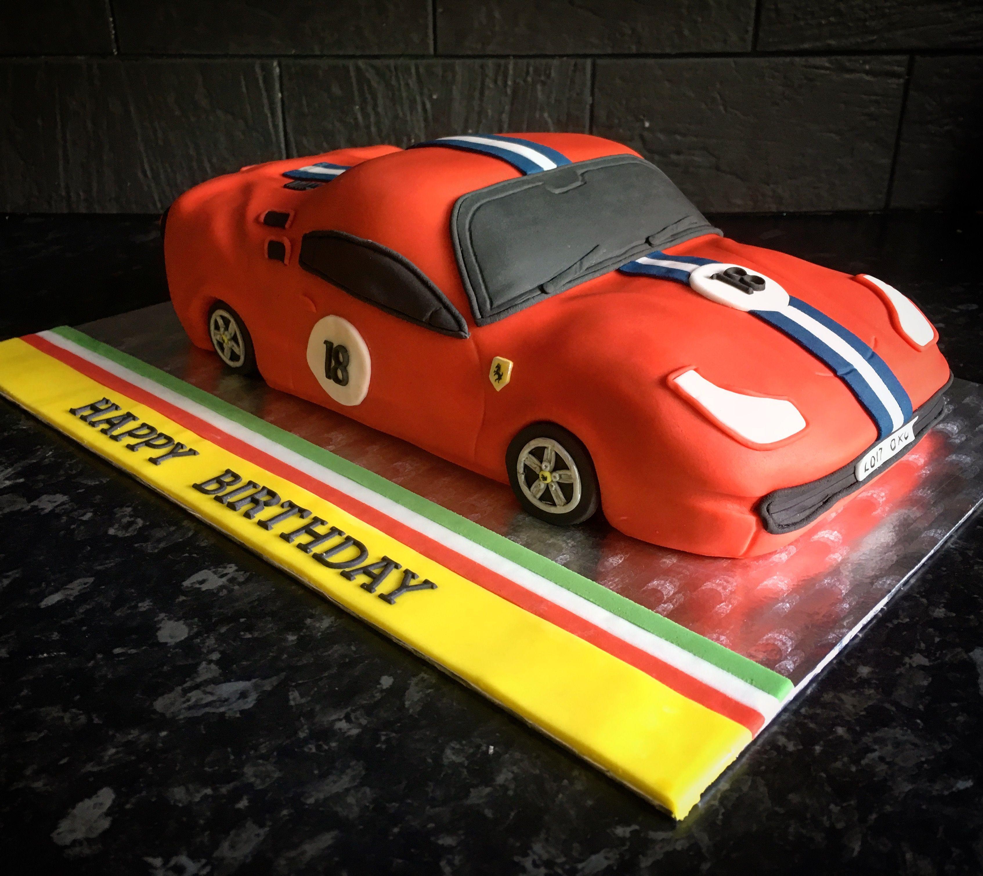Ferrari shaped birthday cake first shaped car cake ive made my ferrari shaped birthday cake first shaped car cake ive made baditri Gallery