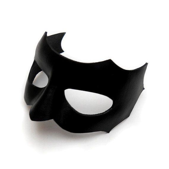 Black Masquerade ball mask pair costume birthday bachelor metal Black Tie Party