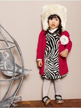 It's like Gap custom-designs clothes for Eva. #Zebra #Fur