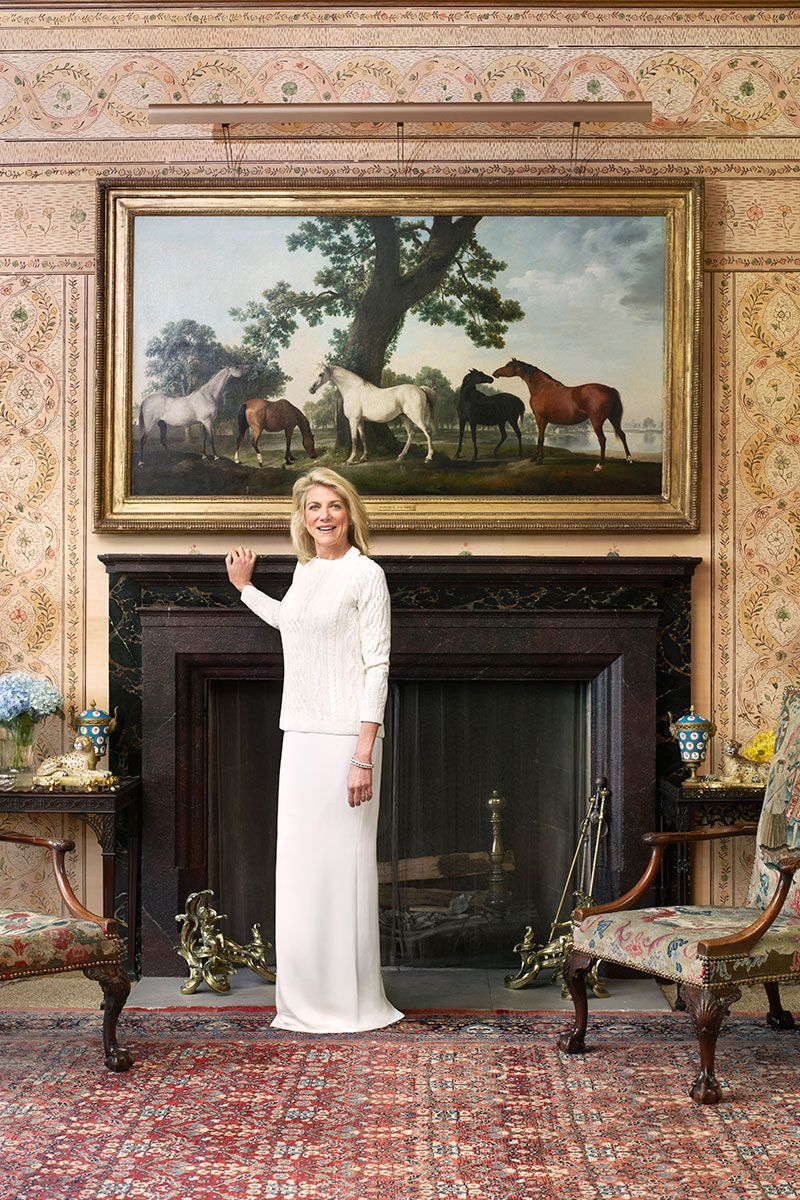 At Home With Lady de Rothschild | Rothschild family, House and ...