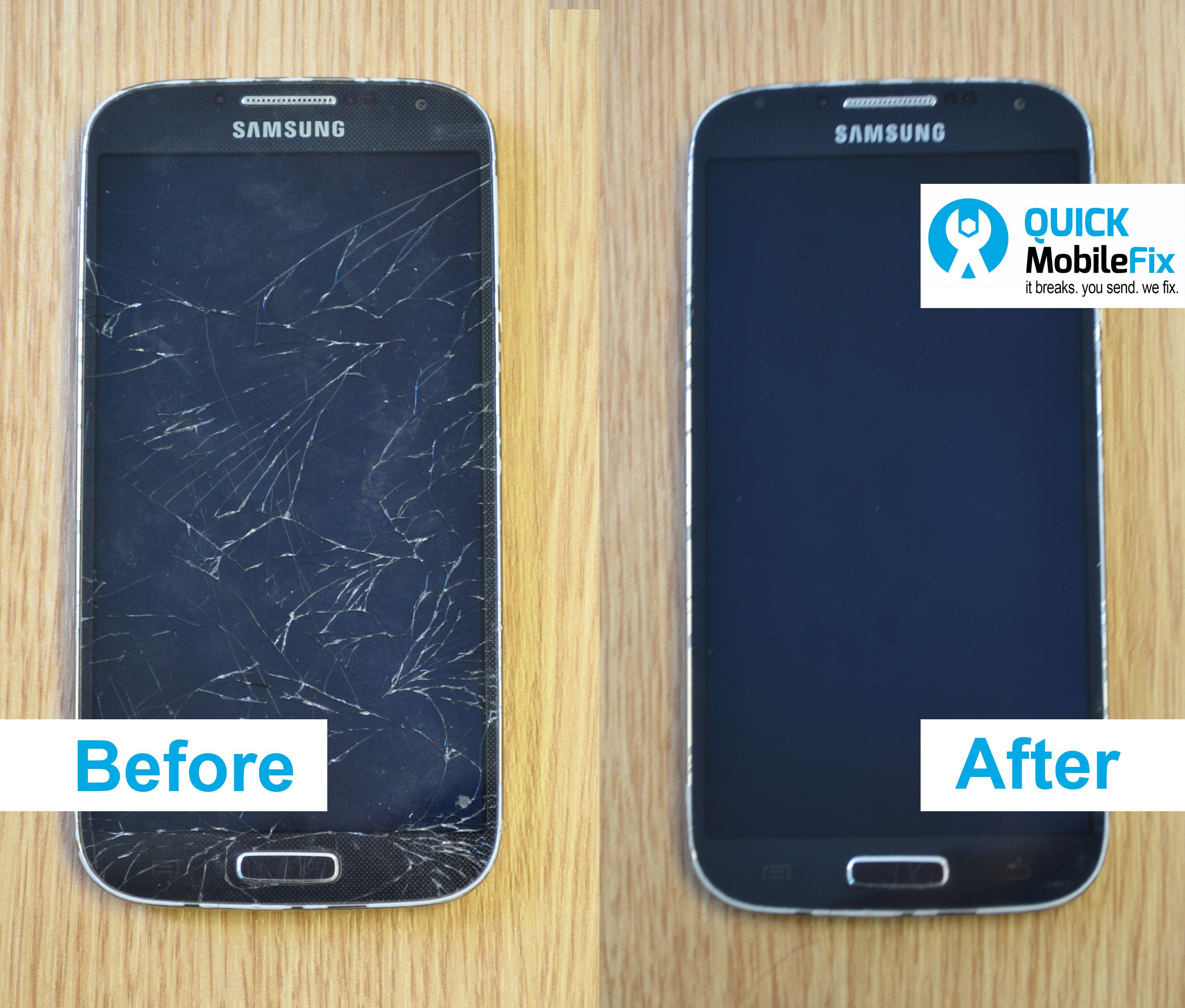 Here's another Samsung Galaxy phone before & after repair picture. | Mobile phone repair ...