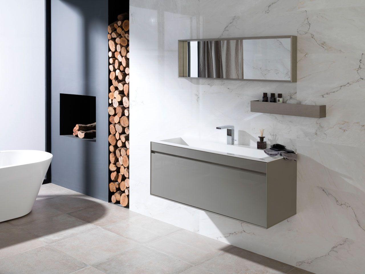 Mobillier de salles de bains. Le Groupe Porcelanosa propose depuis