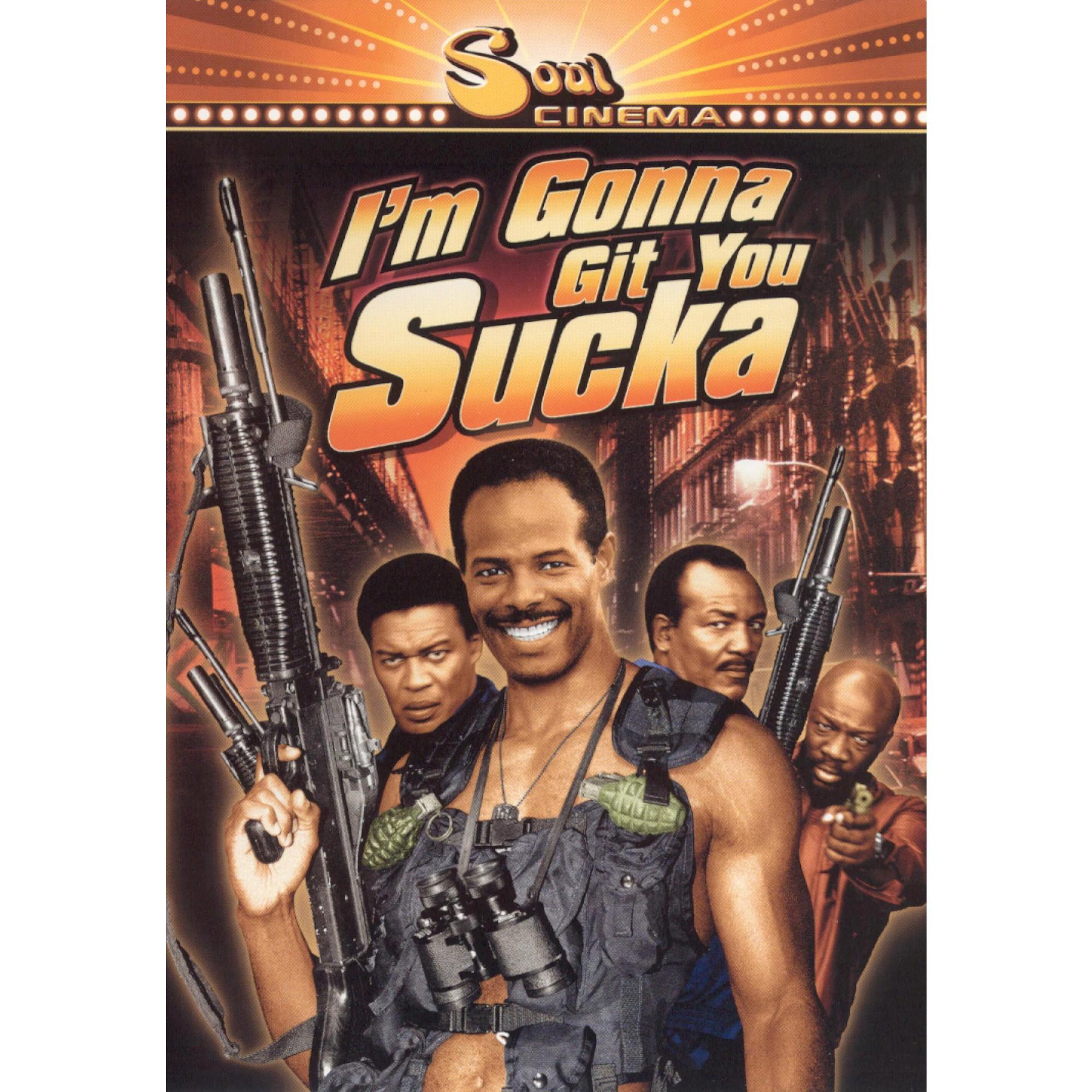 I'm gonna git you sucka (Dvd) Blaxploitation film