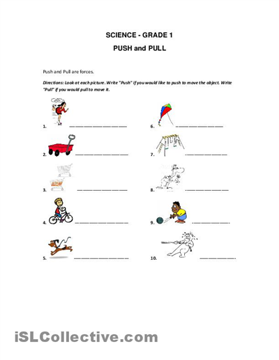 forces printable and pull worksheet free esl printable worksheets made by teachers. Black Bedroom Furniture Sets. Home Design Ideas